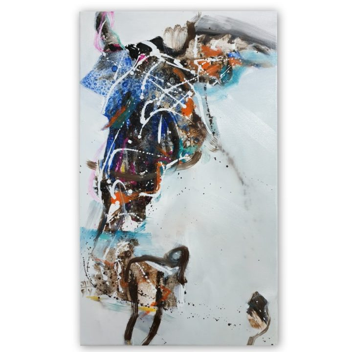 tableau abstrait julie maugard